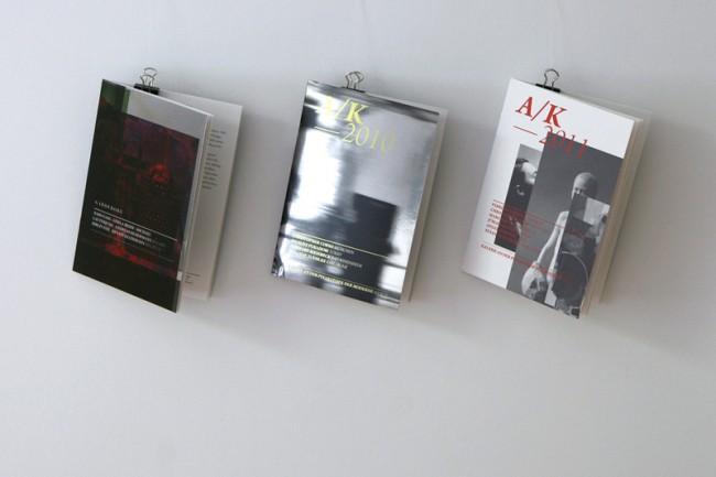 Ausstellungsbegleitende Kataloge für die Galerie an der Pinakothek der Moderne | © Carte Blanche Design Studio