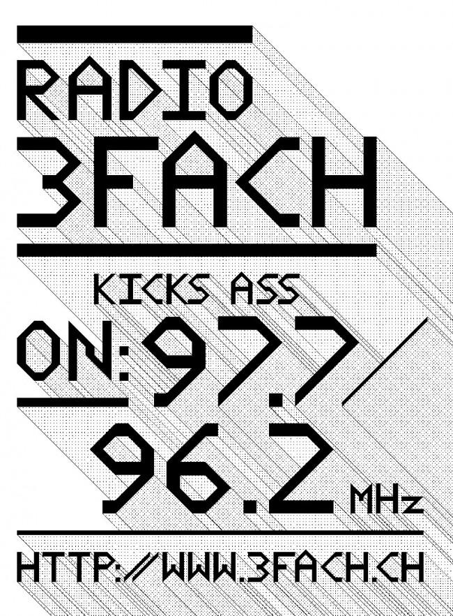 Plakat »Radio 3Fach«