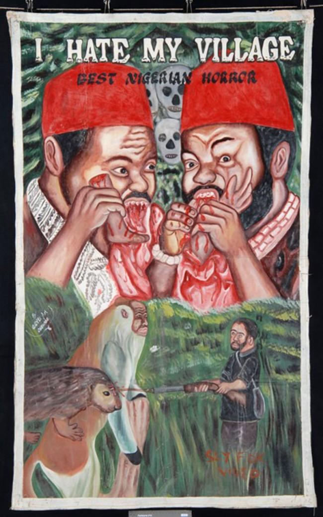 I hate my village, Nigeria, 1998, Horrorfilm   Agyei Art