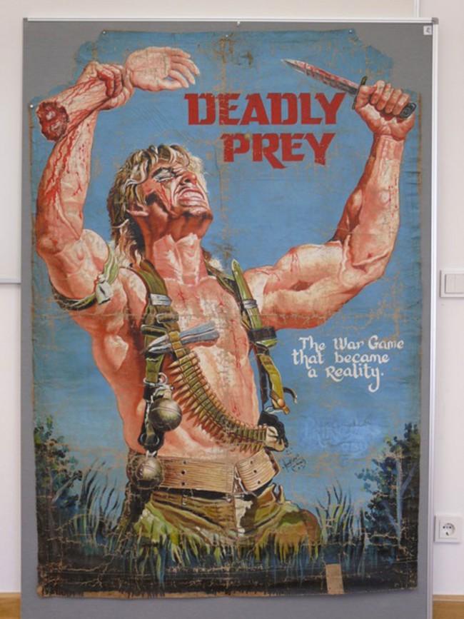 Deadly Prey, USA, 1986/87, Actionfilm   Nyan Kumah