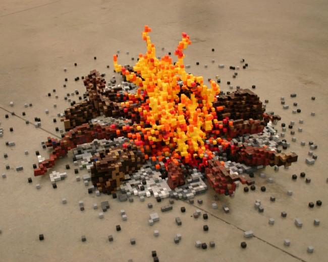 »8bit Campfire« (2005)