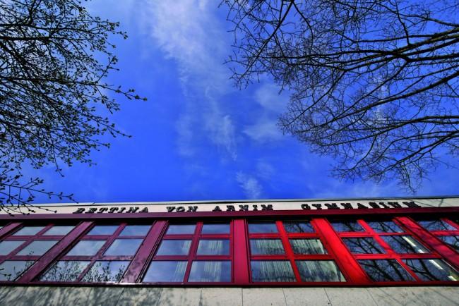Aussenansicht der Schule © Dieter Zettner, Köln