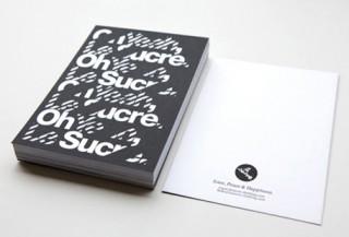 Kommunikationsmittel für das T-Shirtlabel Le Sucre