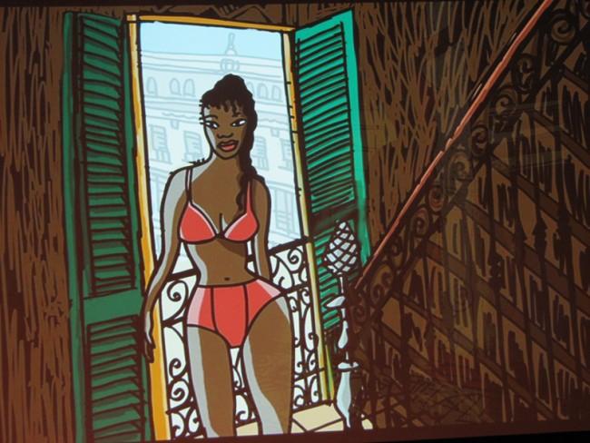 Aus dem Making-Of von Javier Mariscal's »Chico & Rita«
