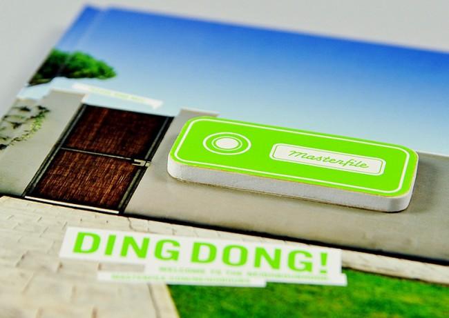 Masterfile, Buch »Ding-Dong!« mit integrierter Klingel | © bell étage