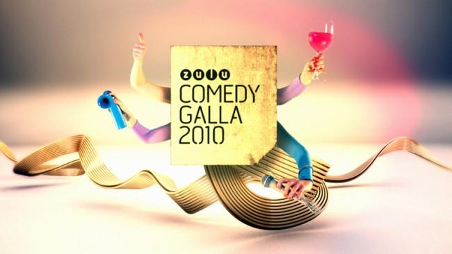TV Spot für die Zulu Comedy Galla, einer Preisverleihung mit der Dänemarks größtes Comedy Festival endet