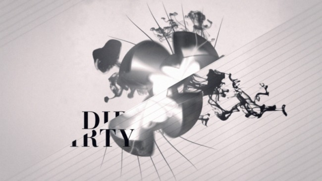 Motiongraphics für die Fashion Show Dirty. Die Keywords für die CI waren Luftverschmutzung, Dreck, Schwarzweiß und sollten stylish aufbereitet werden