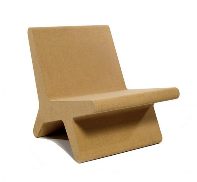 Corqui Chair von Pedro Silvadias: besteht aus Stanzresten aus der Flaschenkorken-Industrie