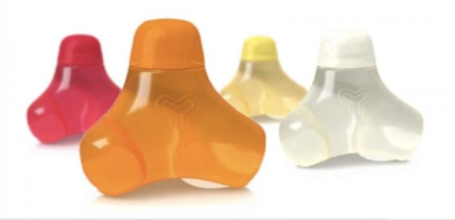 Y Water: Vitaminwasser für Kinder, dessen PET-Flasche anschließend zum Spielen genutzt werden kann