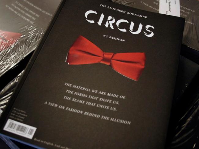 Eva Anhäuser erhielt für ihr Blogger-Bookazine »Circus # 1« einen silbernen Nagel.