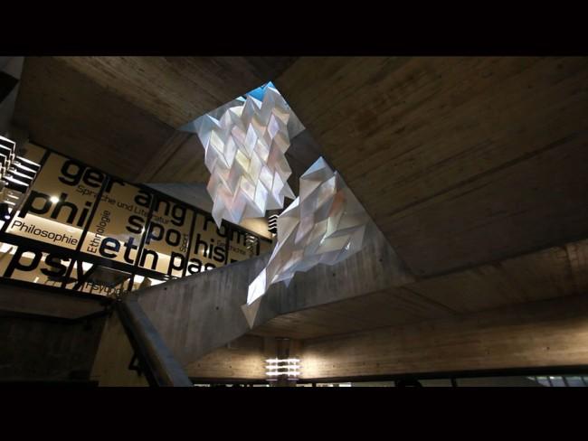 Manuel Dreesmann, Dawei Wu und Henrik Lippke wurden für ihr Projekt »Wandern im Wissen« mit Silber prämiert.