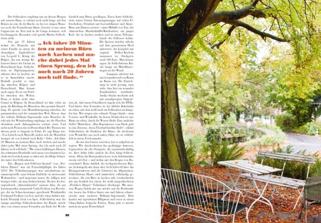 »The Weekender«: Im Schloss von Martin Schlechtriem, beim »Perfekten Dinner« entdeckt