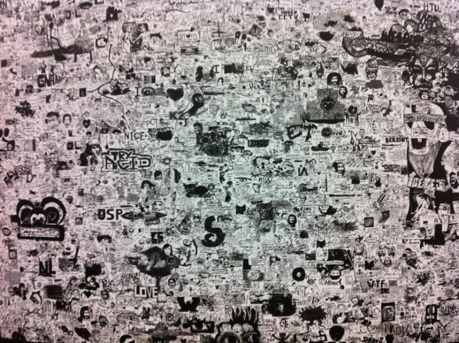 Ein Ausschnitt der edding Wall of Fame
