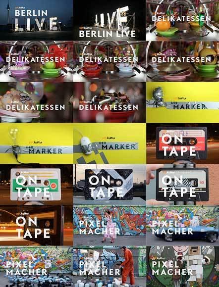 Bild ZDF.Kultur Image Ident