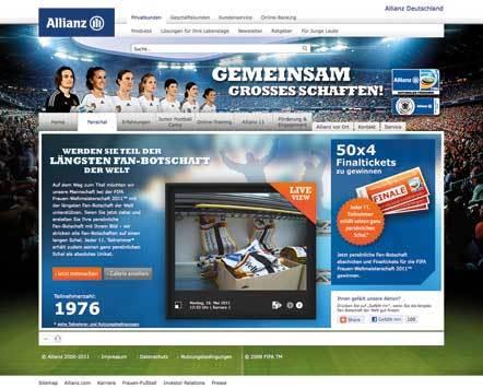 Bild e7 Allianz Fanschal