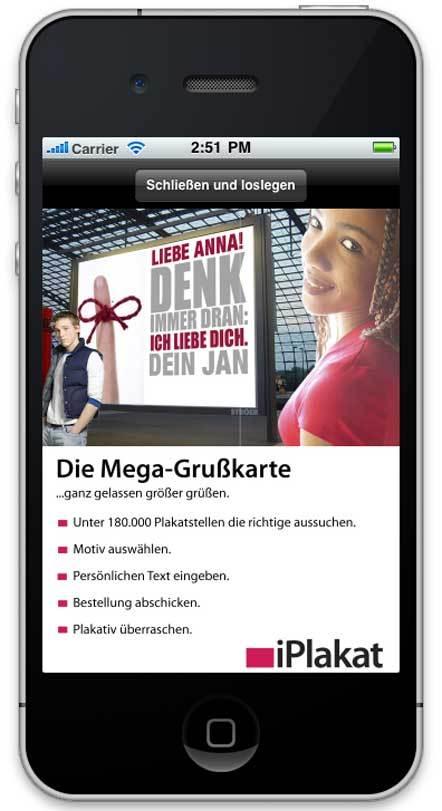 Bild iPlakat App