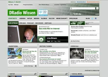 Bild Grimme Online Award DRadio Wissen