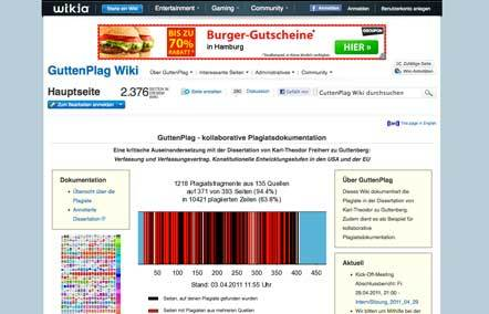 Bild Grimme Online Award Guttenplag Wiki
