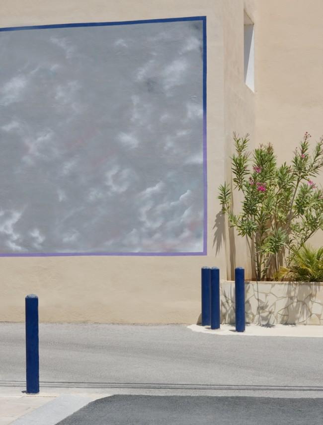 »biza 1 / 2« - dechiffriert eine Straßenszene auf Ibiza, um sie dem Betrachter neu zugänglich zu machen | © Anna Siggelkow