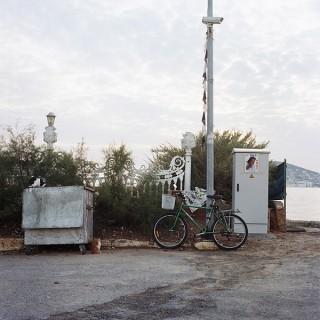 Aus der Serie »Istanbul« »Cats and Bike«   © Julia Smirnova