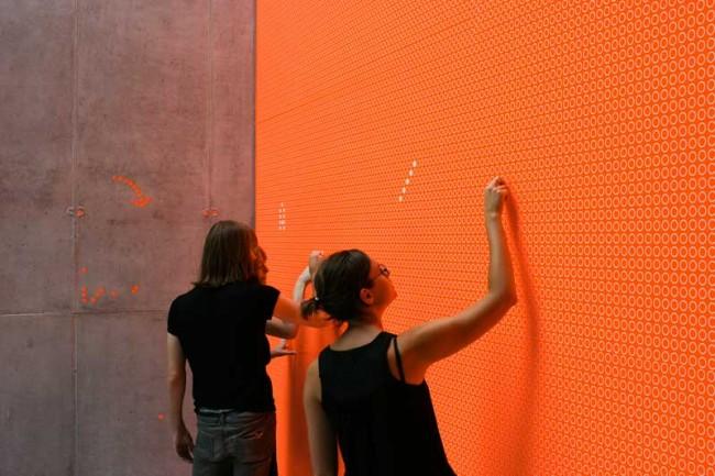 Appeel, Analoge interaktive Installation | © TheGreenEyl
