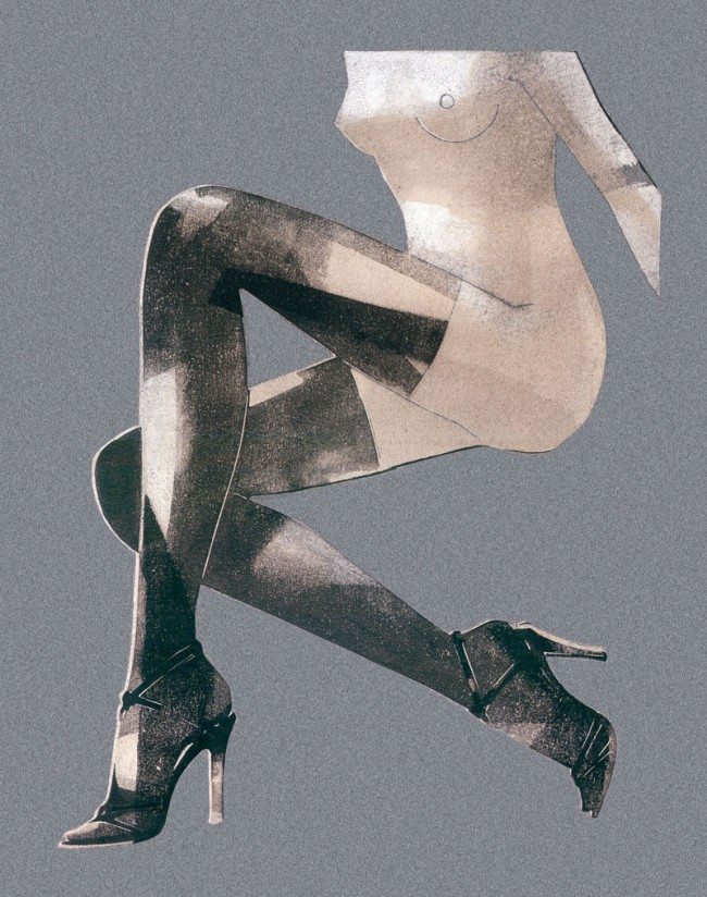 Calzedonia Tights, Verpackung für Calzedonia (Italien), Monotype, 2002, © François Berthoud