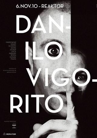 Titel: Danilo Vigorito | Auftraggeber: Reaktor Club, Winterthur | Gestalter: typosalon: Matthias Gubler