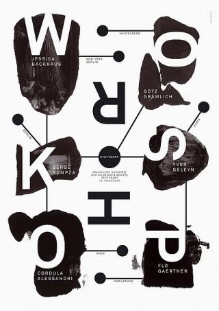 Titel: Workshop 2010   Auftraggeber: Staatliche Akademie der Bildenden Künste Stuttgart   Gestalter: Lucia Elena Pruša