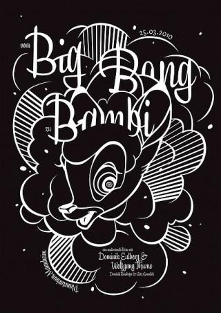 Titel: Big Bang Bambi | Auftraggeber: Planetarium Mannheim | Gestalter: gggrafik design: Götz Gramlich