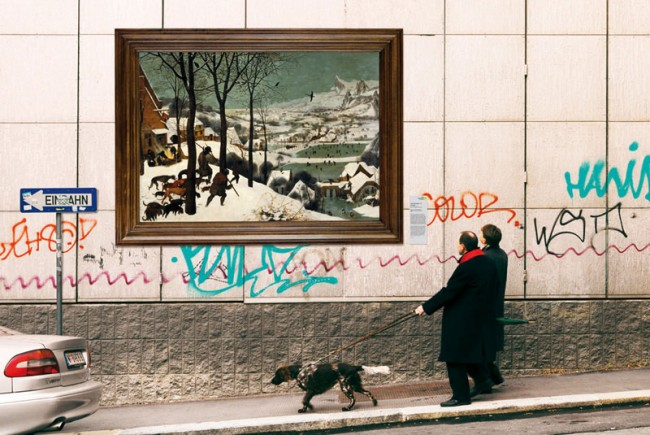 Kampagne »Kunsthistorisches Museum im Öffentlichen Raum«