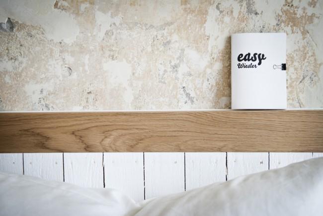 »Easy Guide«, kleine Hotelbroschüre für Hotel »Das Wiesler«