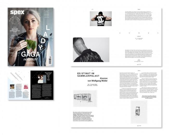 Art Direction/Re-Design: Spex – Magazin für Popkultur, seit 2010