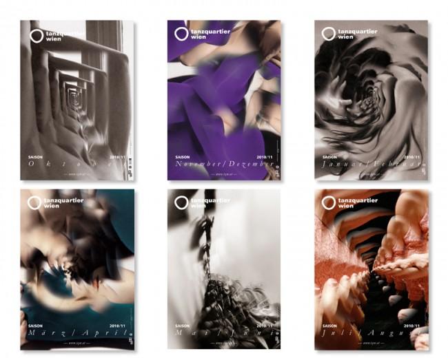 Re-Design/Art Direction: Erscheinungsbild und Kampagne für TANZQUARTIER Wien, seit 2010