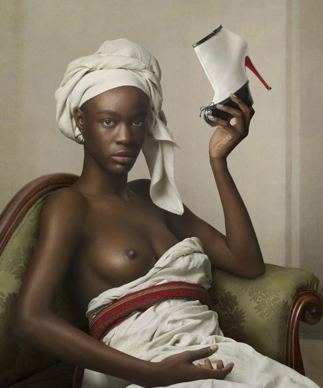 Lippmanns Neuinterpretation von Marie-Guilleme Benoit »Portrait d'une Negresse«