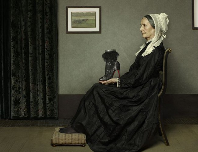 Nah am Original ist auch das Kampagnenbild nach James McNeill Whistlers »Whistler's Mother«