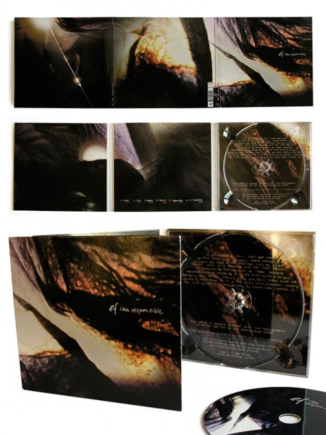 EF: I AM RESPONSIBLE // ALBUM COVER: Coverdesign für das Album »I am responsible«. Art Direction & Photography.