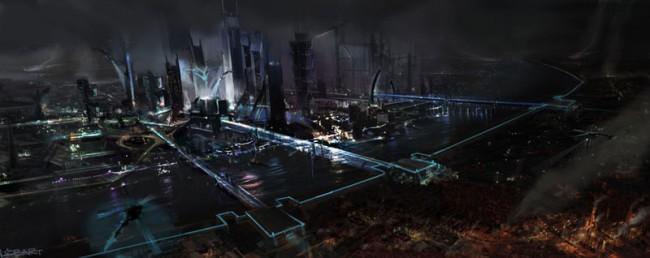 TEKKEN - Tekken City Konzept