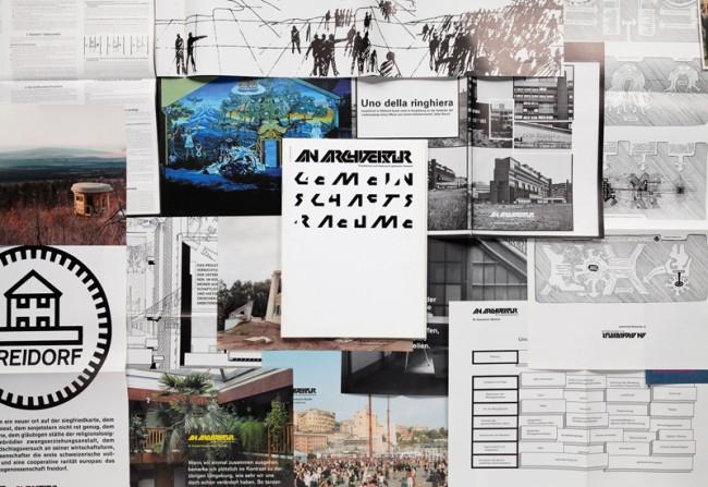 An Architektur 10, Gemeinschaftsräume