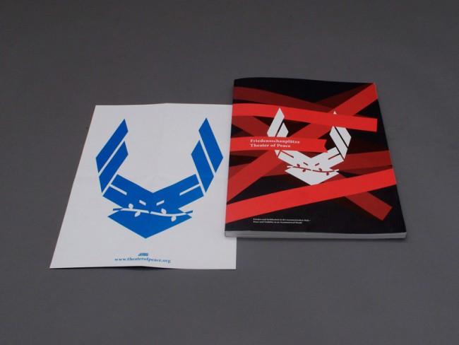 Poster/Folder und Katalog für »Friedensschaupläze«