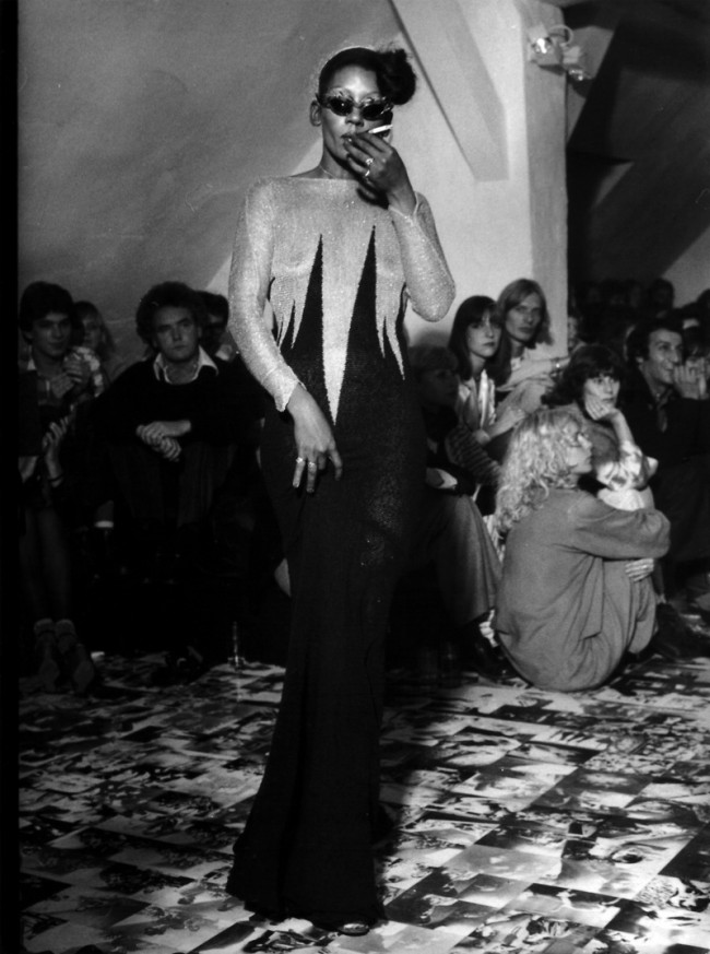 Claudia Skodas Atelier in den 70er Jahren