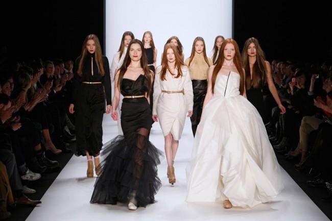 Finale der Herbst/Winter-Show 2011/12 von Kaviar Gauche