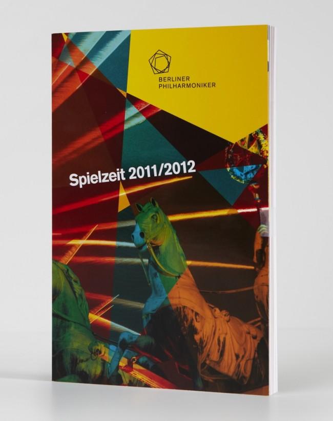 Dre Spielplan 2011/12 ist das erste Kommunikationsmittel im neuen Design