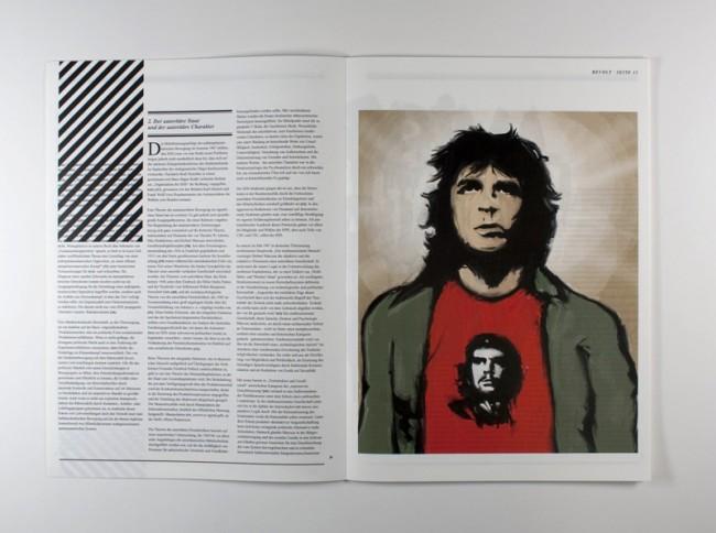 »Revolt«, eine Mischung aus Zeitung und Magazin, das Politik und Popkultur der 1960er Jahre thematisiert