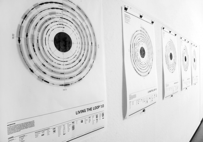 »Living the Loop« stellt Verhaltensmuster mittels Grafik und Sound dar