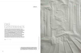 Das Geisterhaus, AD Architectual Digest Nr. 10 Nominiert in der Kategorie Zeitschriften / Illustrationsbeitrag des Jahres
