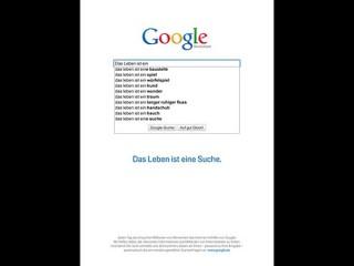 Google, Kolle Rebbe Nominiert in der Kategorie Werbung / Kampagne des Jahres