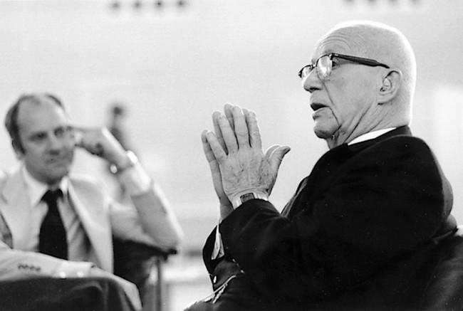 Richard Buckminster Fuller & Norman Foster