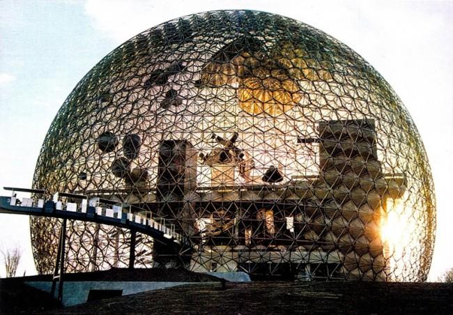 R. Buckminster Fullers US Pavillion für die Weltausstellung in Montreal, 1967 Courtesy, The Estate of R. Buckminster Fuller