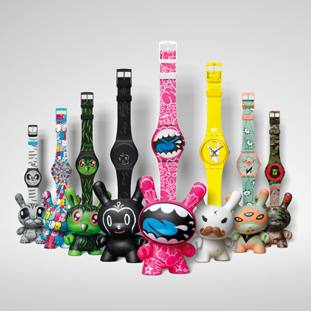 Bild Kidrobot Swatch
