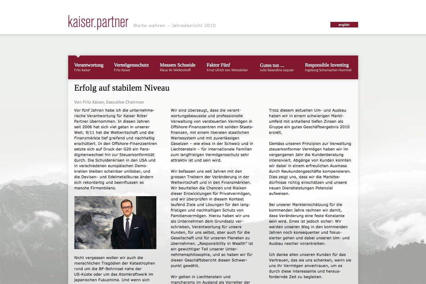 kaiserPartner_Jahresbericht